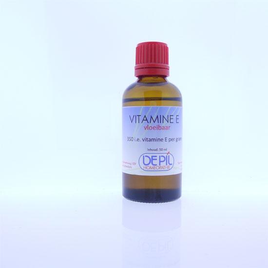 Vitamine E olie vloeibaar